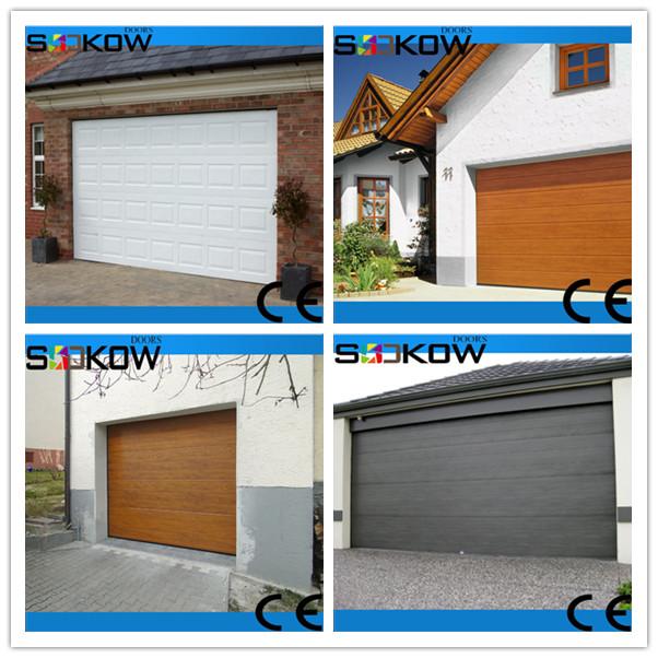 Frosted glass aluminium garage door aluminum frame glass for Opaque garage door