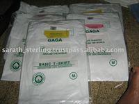 $0.35 per 120 gsm white T-Shirts fob India.