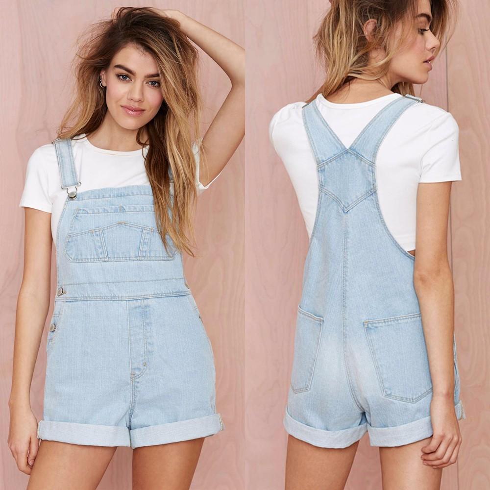 wholesale sexy short denim overalls/girls denim overalls/denim