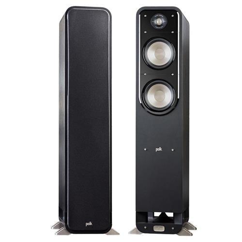 Polk Audio 2x Signature Series S55 Medium 2-Way American HiFi Home Theater Tower Speaker (2Speakers)