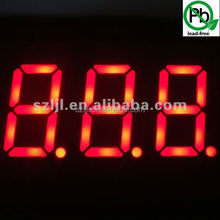 "Hot selling 0.36"" LED gas price sign 3 digit red color led numeric display"