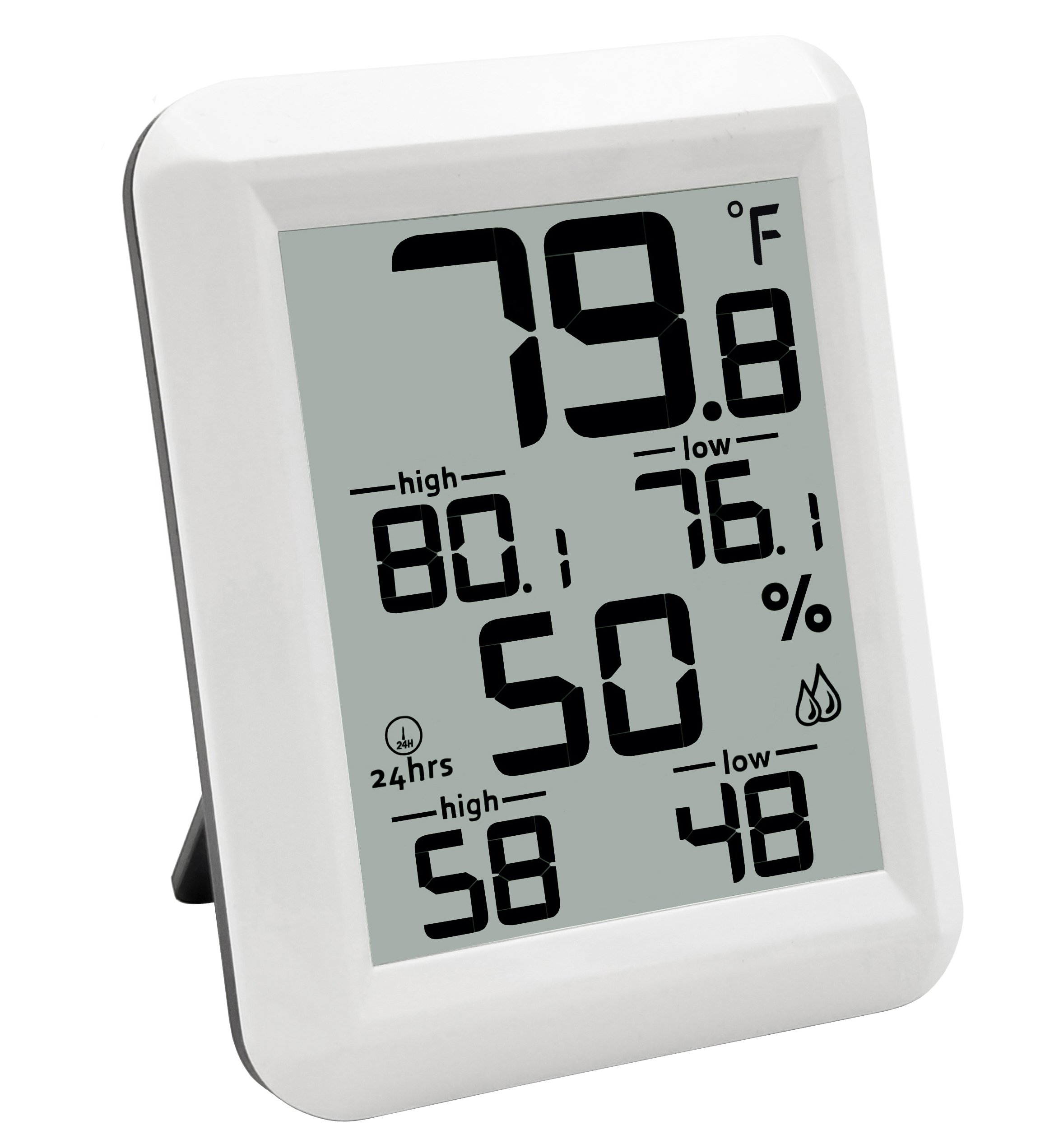 Amastar A0421 Indoor Hygrometer Thermometer Portable Digital Temperature Monitor Humidity Gauge