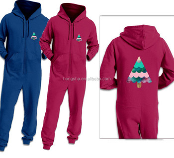 Christmas Jumpsuit Pajamas.Adult Onesie Winter Family Christmas Jumpsuit Pajama With Hood One Piece Jumpsuits With Customize Tree Logo Print Hsp5852 Buy Family Christmas