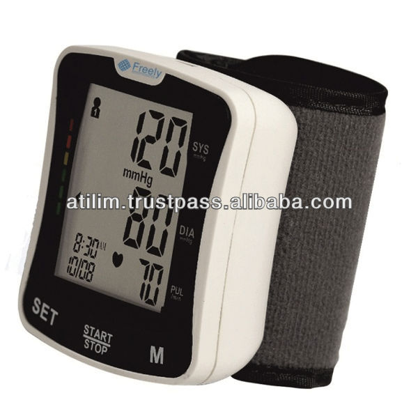 Economic Wrist Type Blood Pressure Monitor