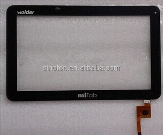 "10.1"" VISUAL LAND touch digitizer touch screen TOPSUN_F0004_A1"