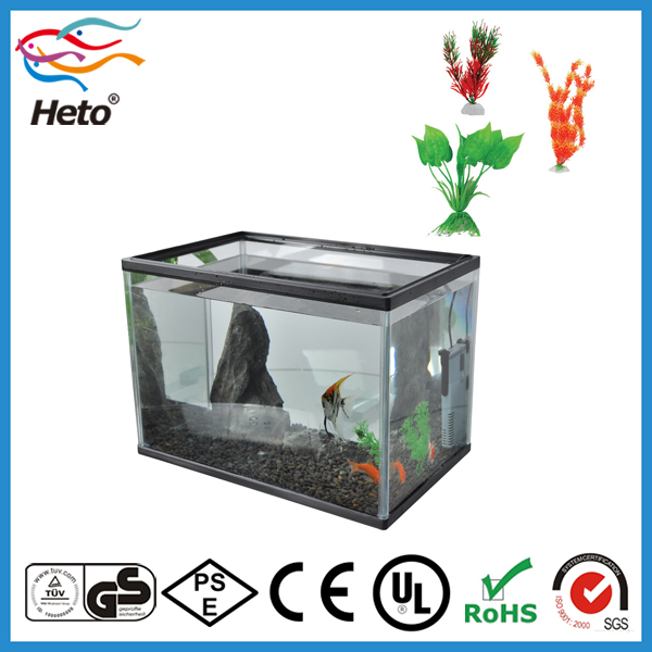 Heto Desktop Glass Aquarium Fish Farm Tank For Sale With Inner ...