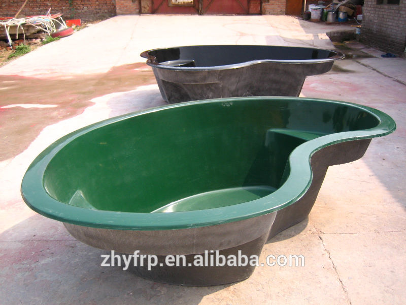 Stone Shape Outdoor Fish Fiberglass Pond Buy Fiberglass Pond Preformed Fish Ponds Garden Stone
