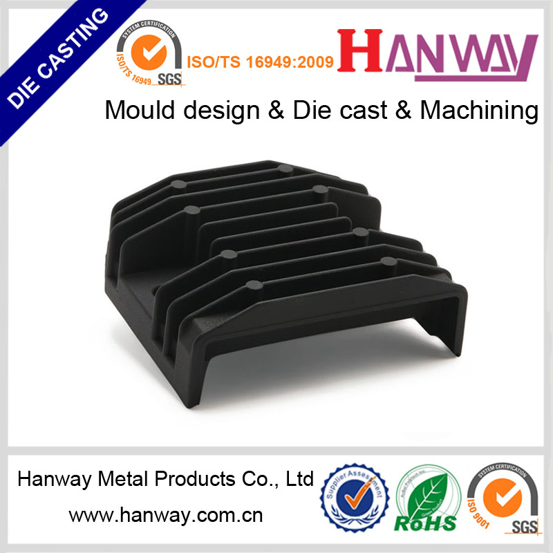 Guangdong manufacture aluminum die casting accessories cars