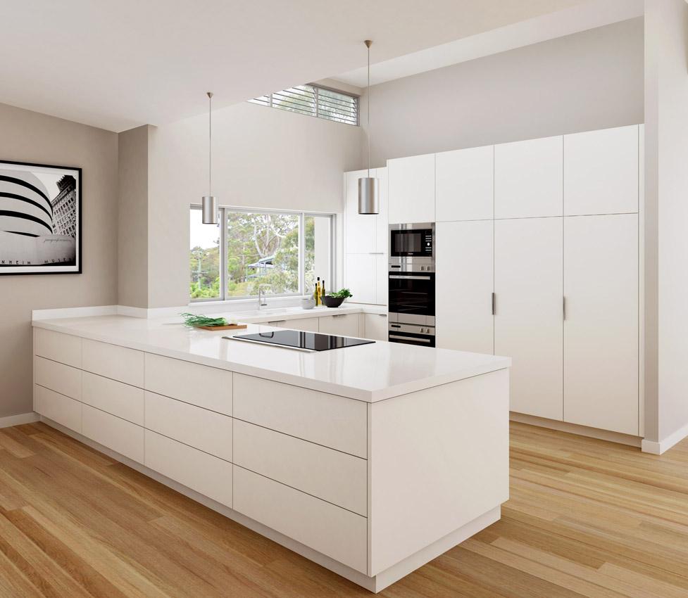 2019 Mdf Modern Kitchen Cabinet Flat Pack Home Aluminium Cabinet
