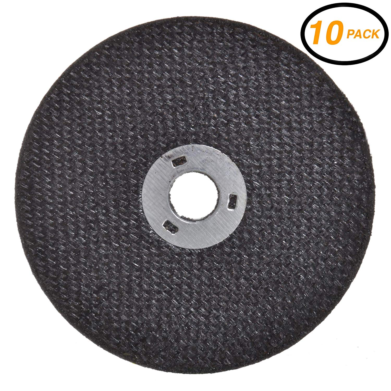 Drixet Die Grinder Cut Off Wheel - Round Hole Cut Off Wheel Metal Cutting Disc for Grinder Zinc Plated Flap Disc Cutting Wheels for Grinders, Flat Cut Off Wheels
