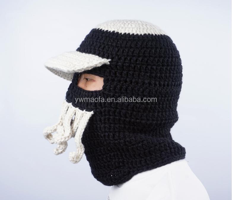 Ventas al por mayor de los hombres/mujeres crochet sombrero pulpo ...