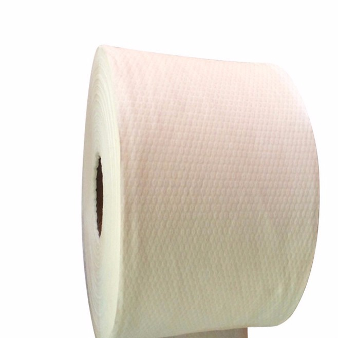Chemical bonded industrial paper roll 100% viscose fabric non-woven viscose fabric price