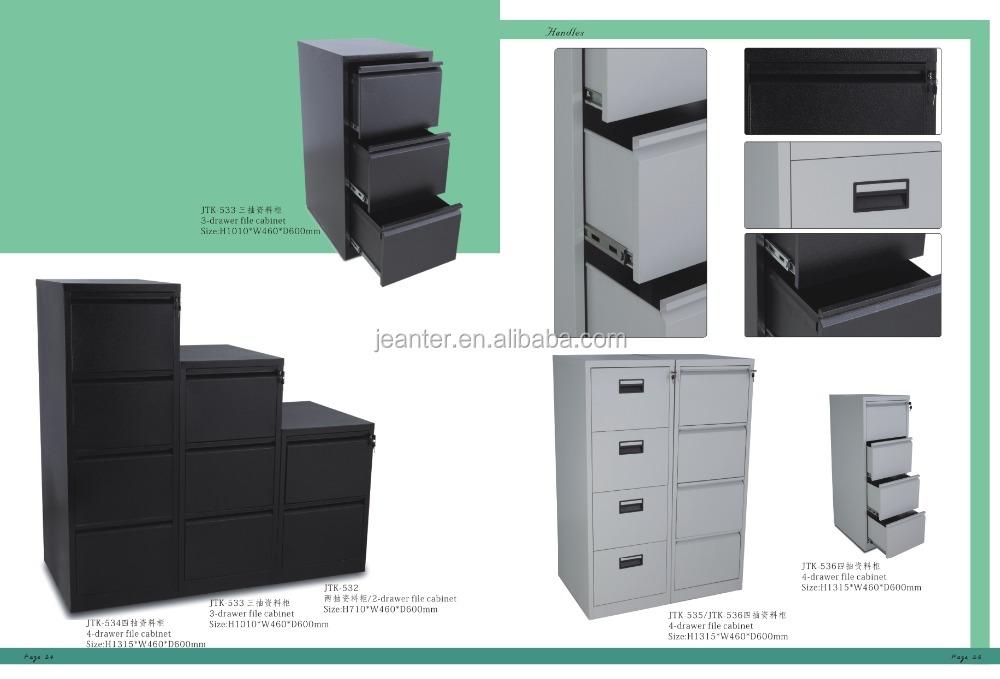 gray color a4 folders steel filling cabinet 3 drawer metal file 3 drawer metal filing cabinet with lock