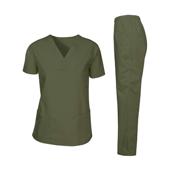 High quality customized hospital waterproof medical scrubs