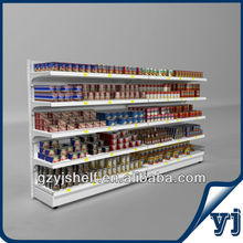 New-Coming Mini Metal Supermarket Shelving Racks for Supermarkets