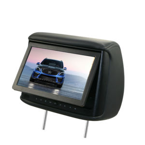 9inch car dvd player 800*480 with USB SD car music video DVD monitor