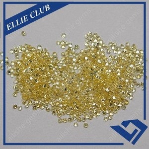wholesale 1.2mm Micro Pave Setting CZ Loose Gem Stone for Gold Jewelry