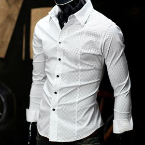Mens slim fit shirt pattern
