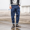 MS70910G Korean style men's solid color denim pants