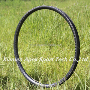 super light hot sale chinese APEX 29er carbon hookless xc mtb rims 29 tubeless