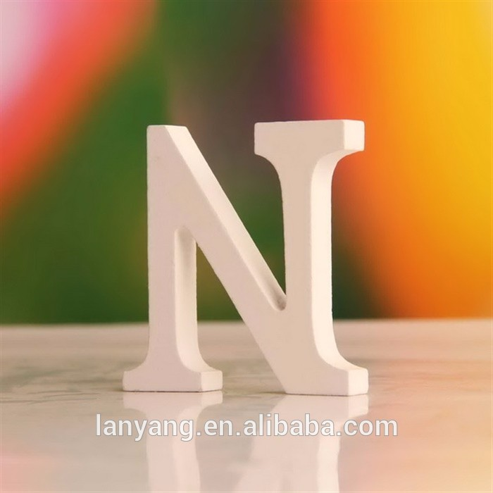 A To Z Wood Letter Alphabet Word Free Standing Wedding Party Home Decoration