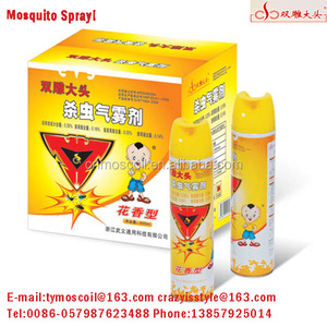 Mosquito spray household oil based water aerosol insecticide spray