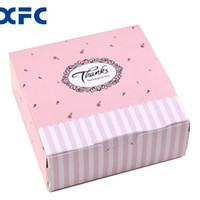 Custom High Quality Promotion Custom printing folding moon cake packaging gift paper box