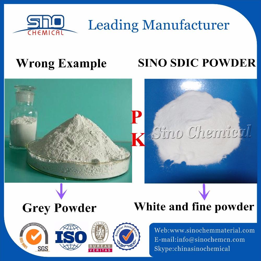 8-30 mesh sdic sodium dichloroisocyanurate granular 60