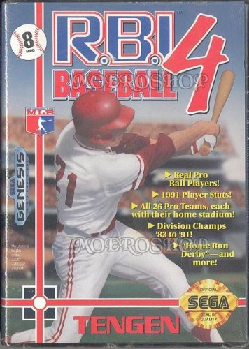 R.B.I. Baseball 4 [Sega Genesis]