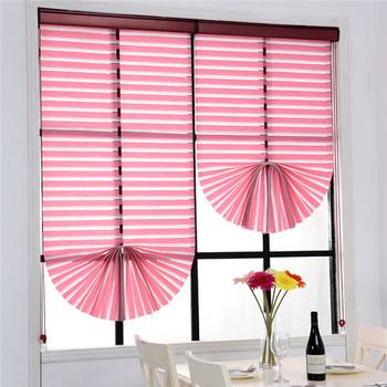 Mittelmeer Folding Vorhänge Fahrstuhl Blind Wohnzimmer Schlafzimmer  Schatten Organza Raffrollo