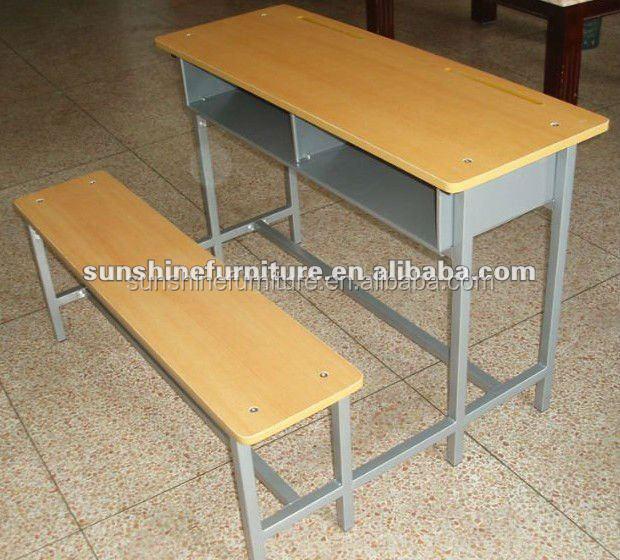 School Classroom Furniture,School Desk With Bench,Classroom Desk And Chair  - Buy Combo School Desk And Chair,Primary School Tables And ...