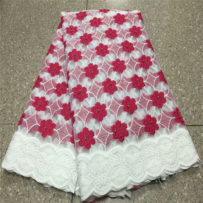 Reasonable 2019 High Quality African Lace Fabrics/french Net Embroidery Tulle Lace Fabric French Lace Fabric Less Expensive Home & Garden Apparel Sewing & Fabric