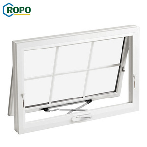 AS2047 Glaze Modern Aluminum Awning Window With Grill Design