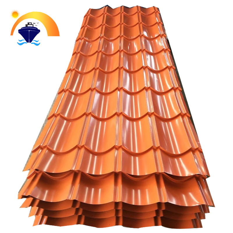 Zinc/AZ coating cold rolled Roofing tiles roofing sheet