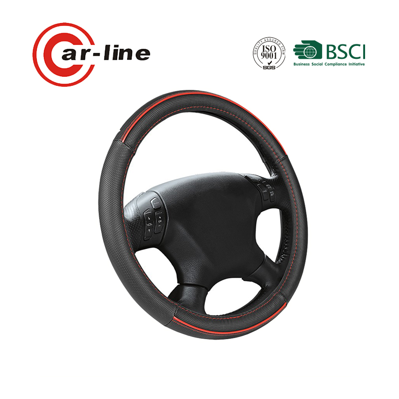 2018 NEW ARRIVAL UNIVERSAL HEATED PVC PU CAR STEERING WHEEL COVER WITH CHEAP PRICE