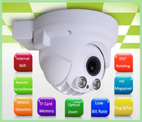 Mini dome camera Support Mobile phone view 2.4MP Digital Camera with Audio pick up and speaker IP Camera