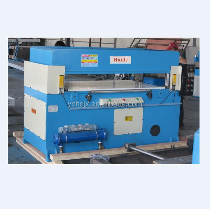 Hydraulic manual carton puzzle making machine