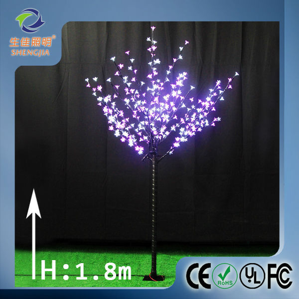Outdoor Led Flower Led Christmas Maple Leaf Tree Artificial ...