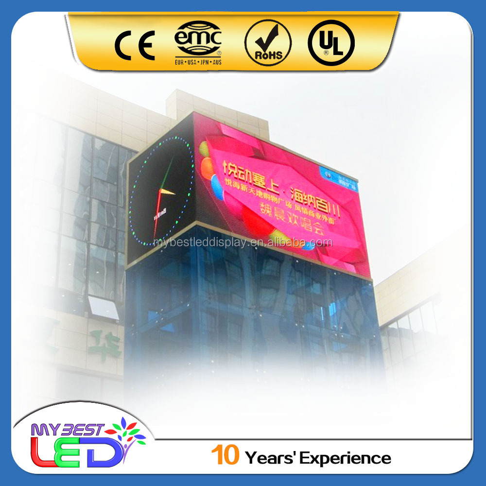 shenzhen hot sex video p16 led display outdoor full color led display for advertising