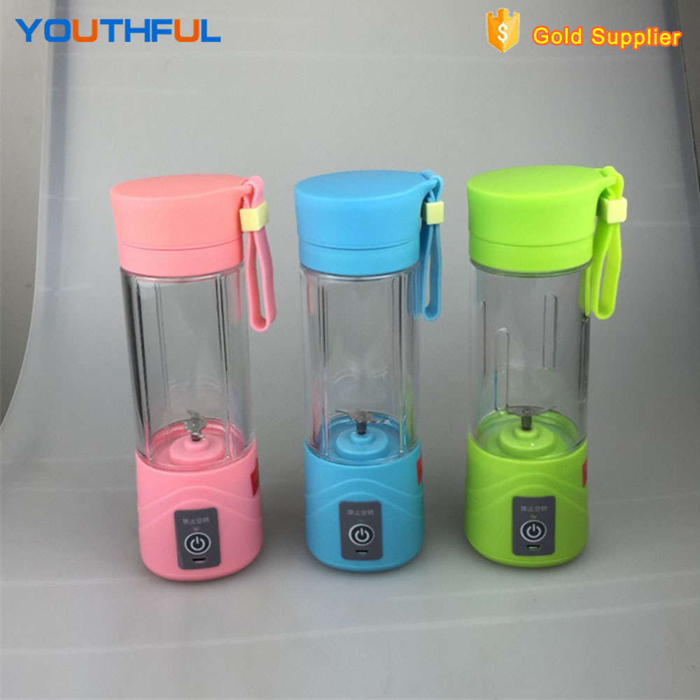 New Popular USB Rechargeable Portable Mini Travel Fruit Juicer Blender