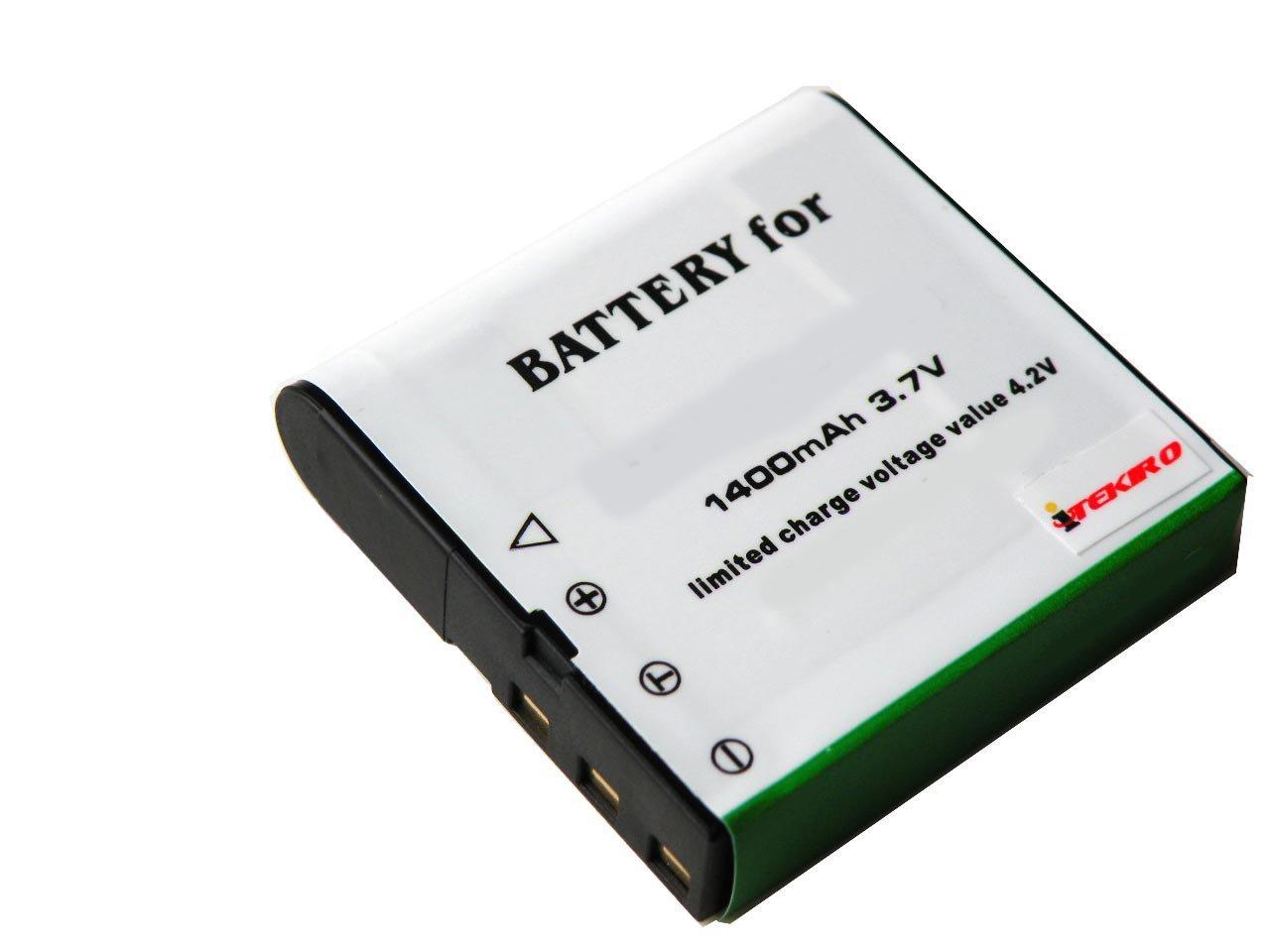 iTEKIRO 1400mAh Battery for DXG PAC-0040 DXG-125V DXG-125VR DXG-517V DXG-531V DXG-531VB DXG-531VK DXG-531VR DXG-532V DXG-532VB DXG-532VP DXG-532VV DXG-533V DXG-534V DXG-534VR DXG-534VS DXG-534VW DXG-535V DXG-535VB DXG-535VR DXG-535VW DXG-566V DXG-571V DXG-580V DXG-580VBL DXG-5B1V DXG-5B1VO