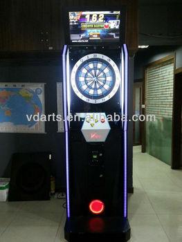 dartbord verlichting dart machine