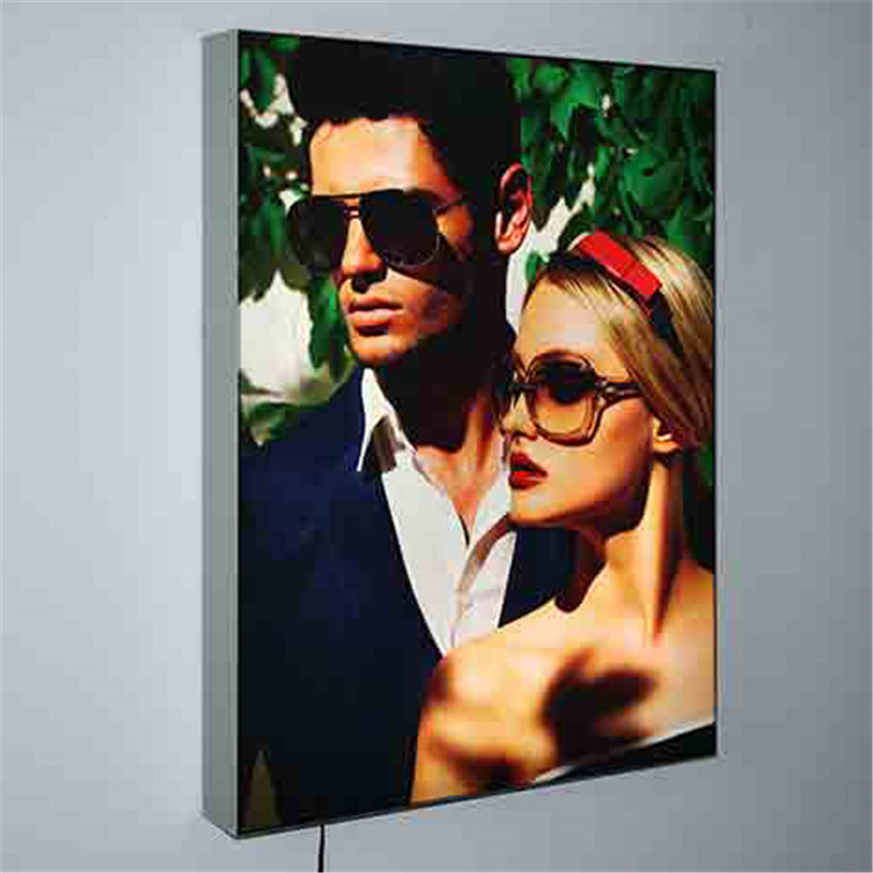 led diffuser film back lit fabric light boxes
