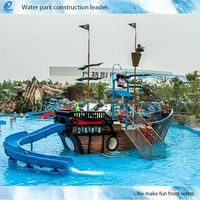Children Water Amusement Park Ride Pirate Ship (ZHXS-001)