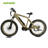 bicicleta electrica bafang mid motor 1000w fat tire electric bike high speed hunting electric bike with cargo bag