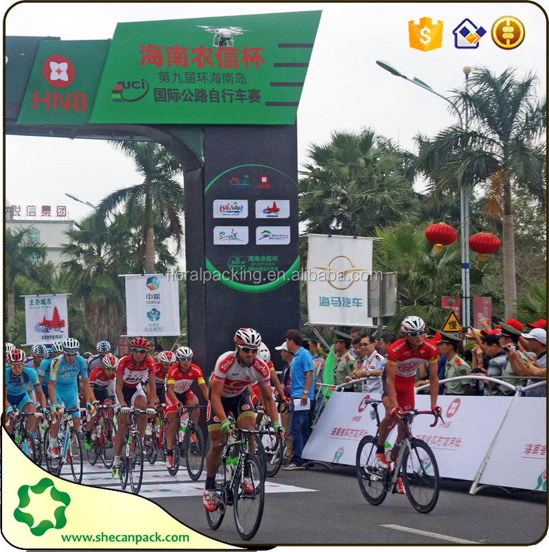 Printed media for Bicycle race advertising banner