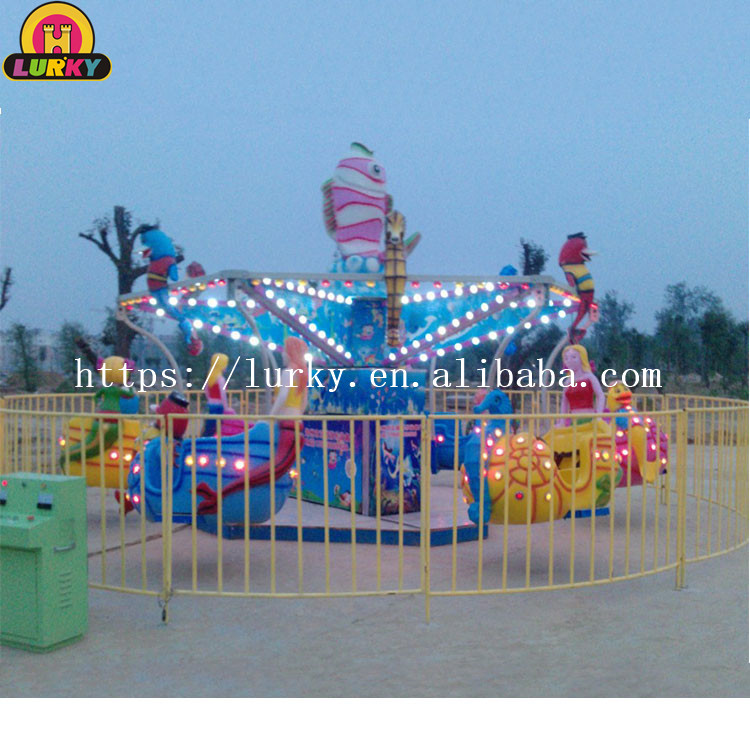 Cheap & high quality attractive roaming in the sea kiddie amusement fun park machine ocean walk for sale