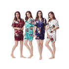 Women Short Set Silk Sleepwear Dress Pajamas