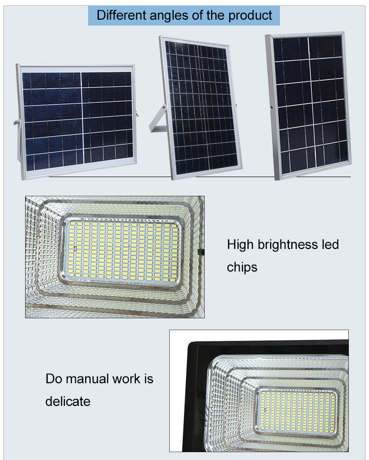Competitive price High power Aluminum material sensor led flood light