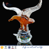 Hand blown murano glass Ceagle animal figurine as gift for him